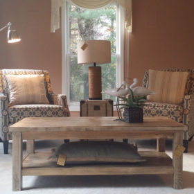 Timber Creek sitting room after staging