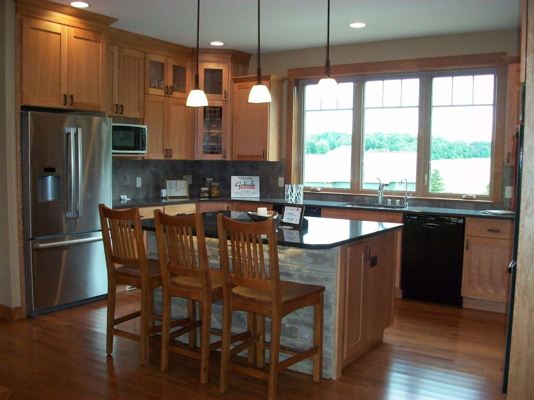 Heartwood Parade Home kitchen staging