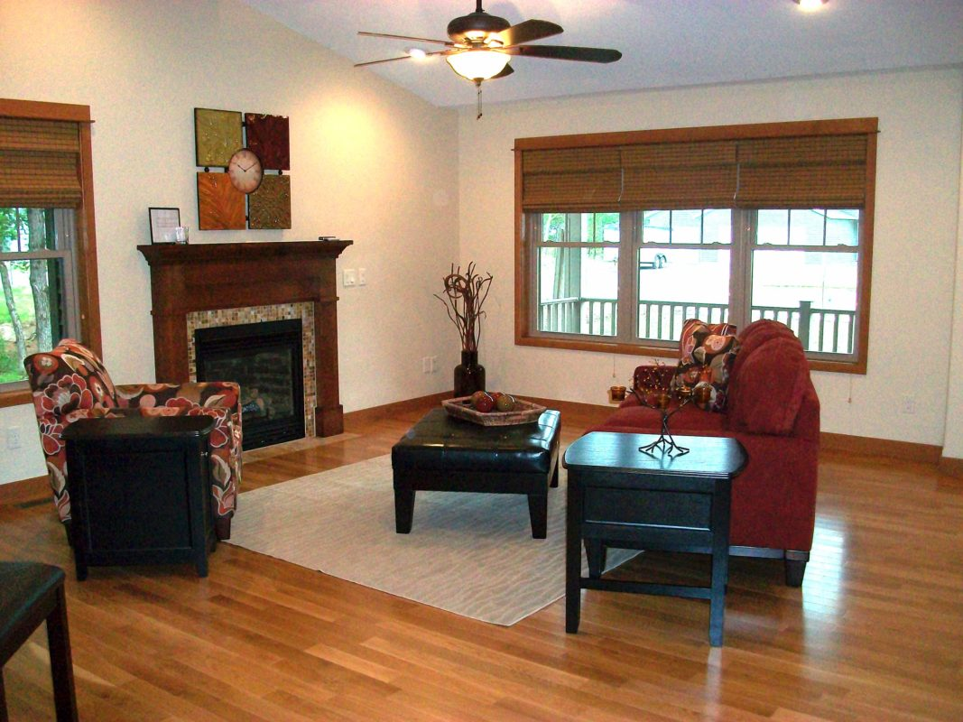 Shorewood Parade Home staging