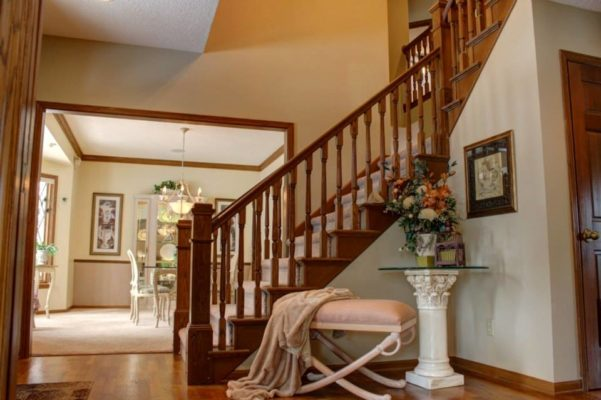 Eastwind foyer staging