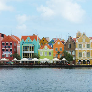 Curacao Dutch-Caribbean colors