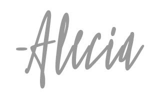 Alecia signature