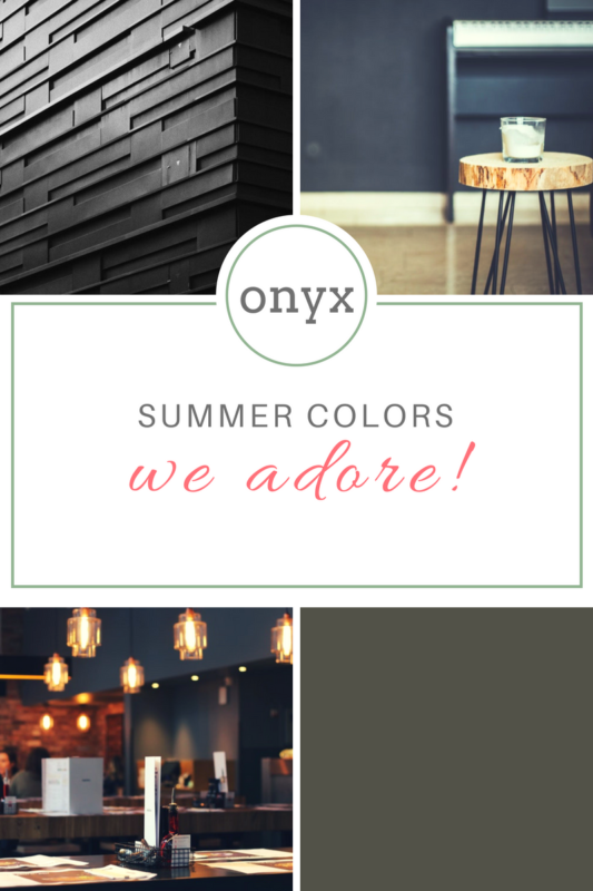 Onyx Paint Color