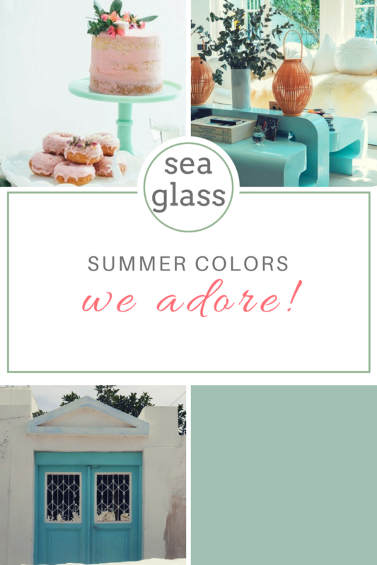 Sea Glass Paint Color