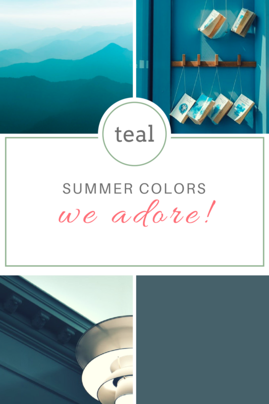 Teal Paint Color