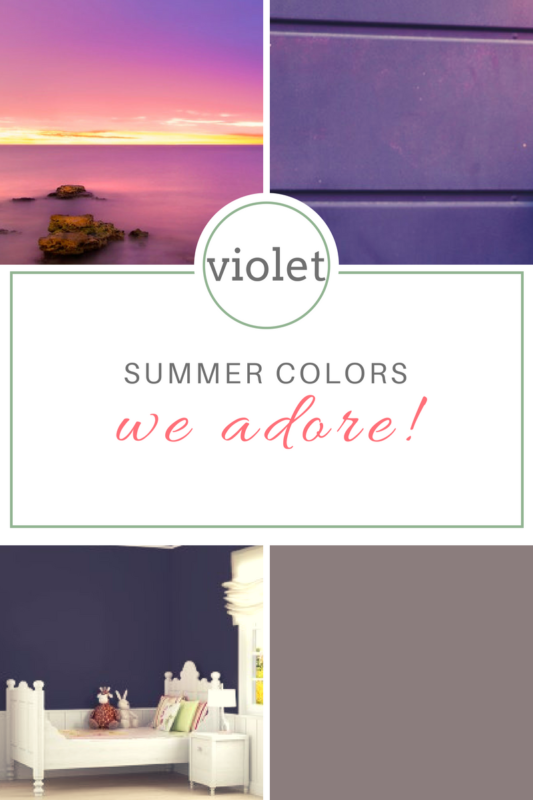 Violet Paint Color