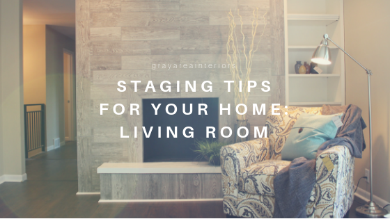staging tips for your home: living room