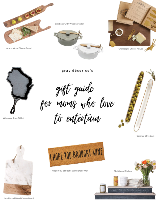 gray decor co gift guide for moms who lover to entertain