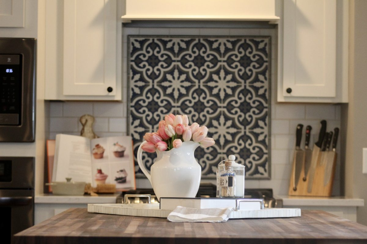 Kitchen remodel made possible by designers in history.
